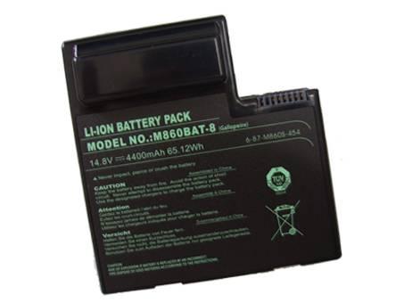CLEVO M860BAT-8 batterie