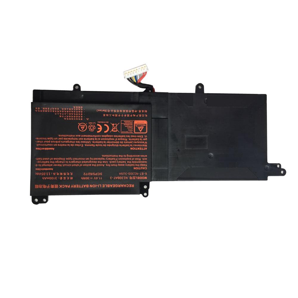 Clevo N130BAT-3 batterie