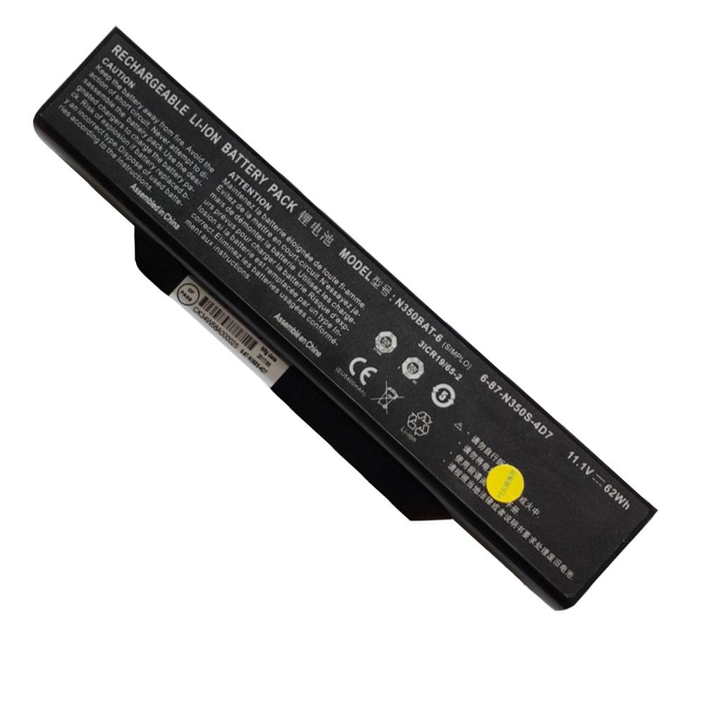 CLEVO N350BAT-6 batterie