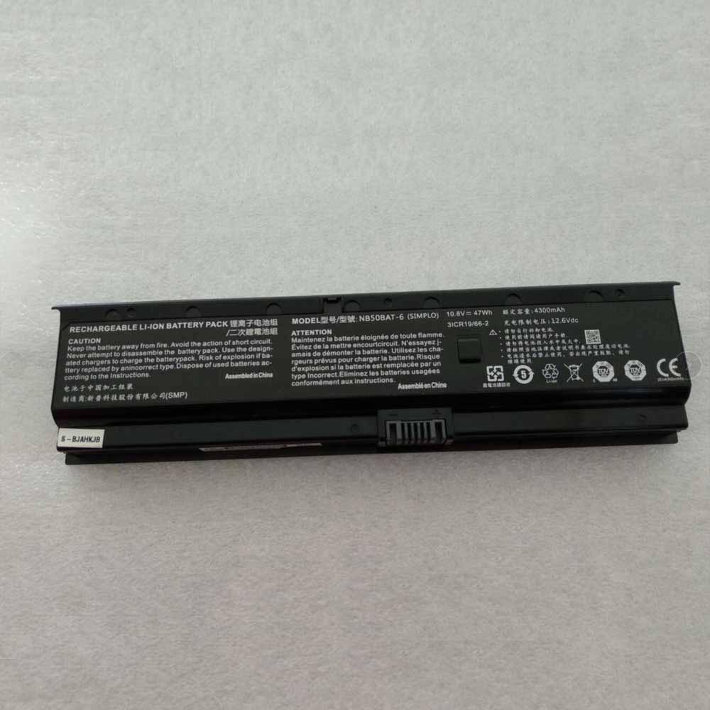 Clevo NB50BAT-6 batterie