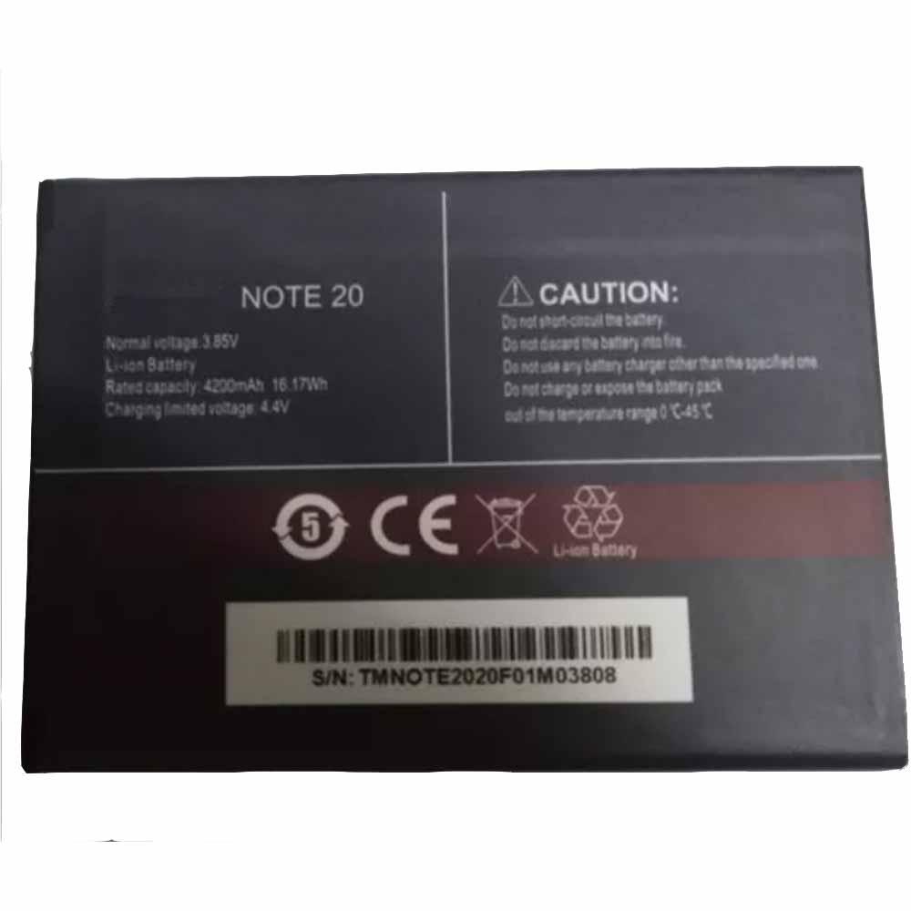 Cubot NOTE_20 batterie