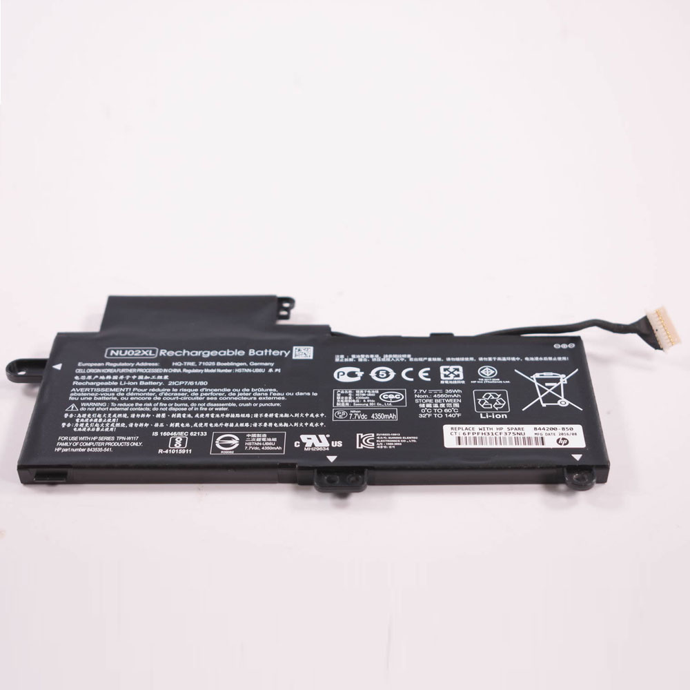 HP NU02XL batterie