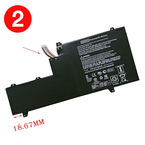 HP OM03XL batterie