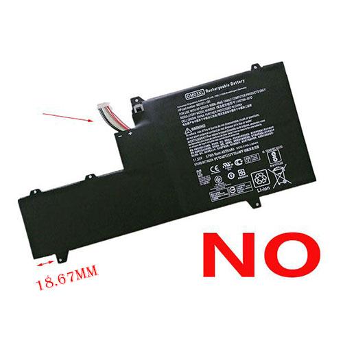 57Wh Batterie de remplacement pour HP OM03XL