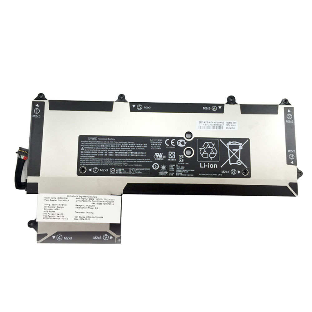 HP OY06XL batterie