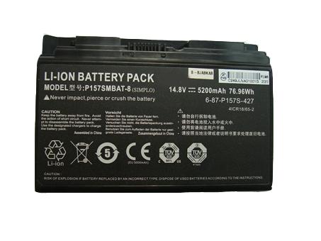 Clevo 6-87-P157S-427 batterie