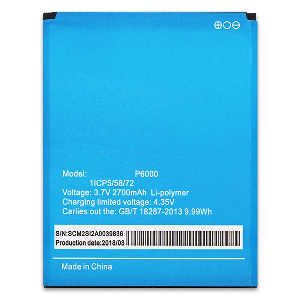 Elephone P6000 batterie