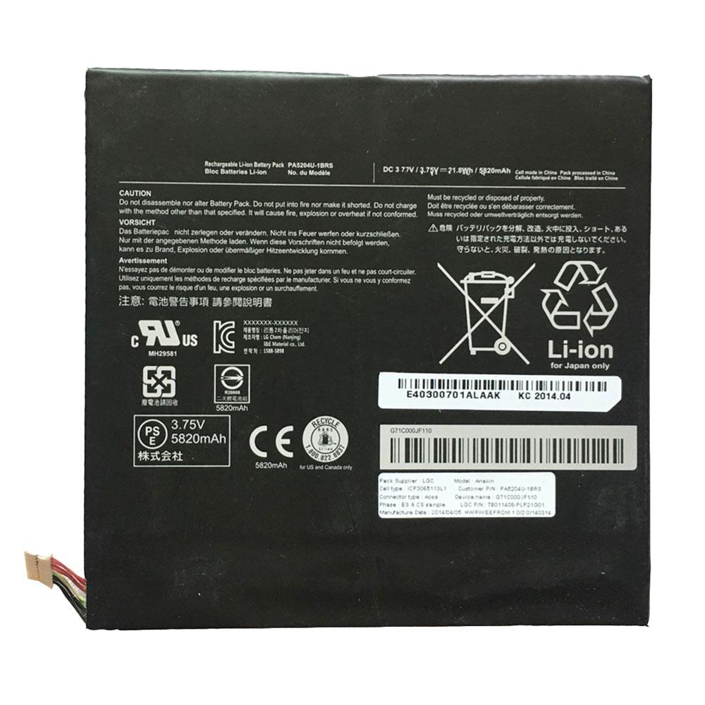TOSHIBA PA5204U-1BRS batterie