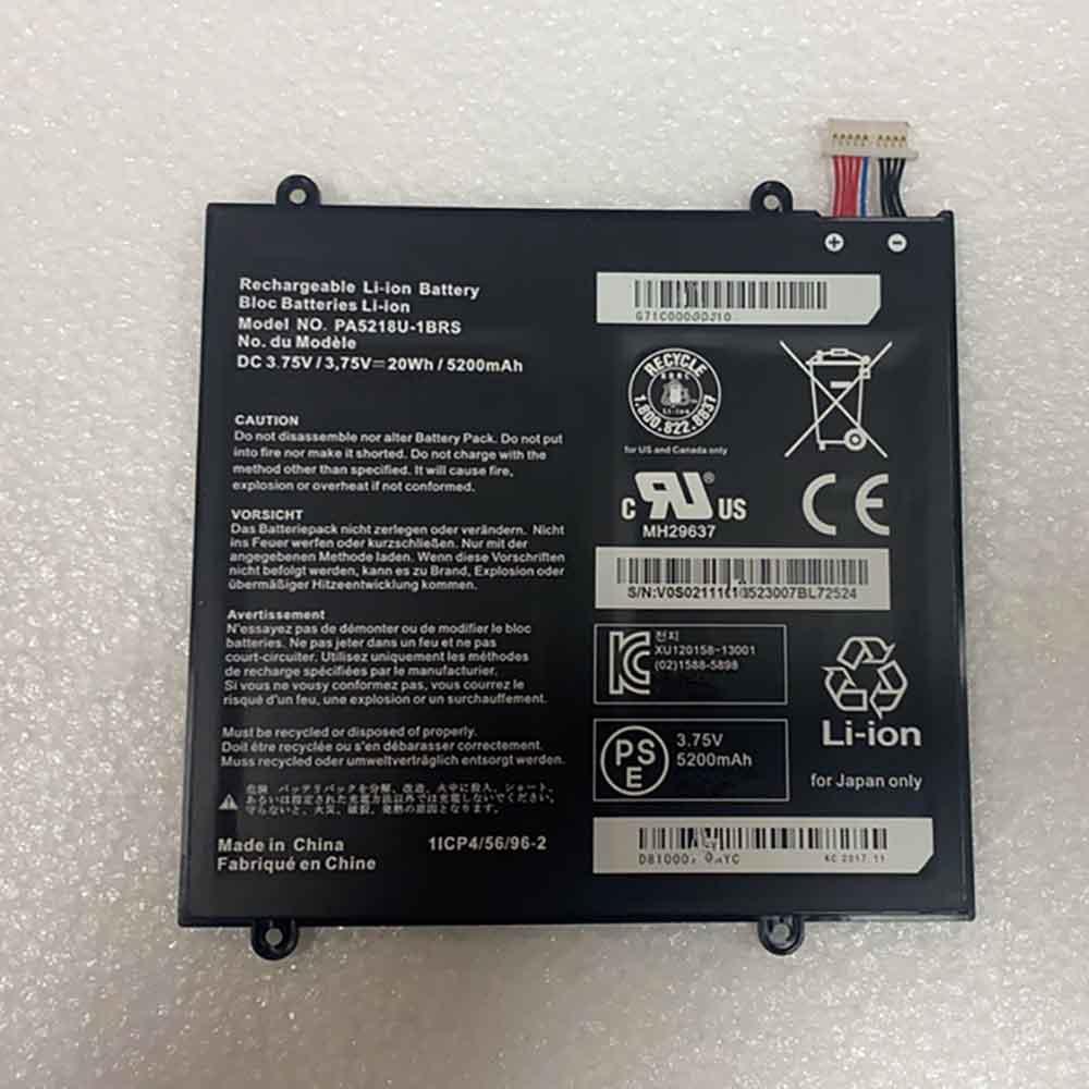 Toshiba PA5218U-1BRS batterie