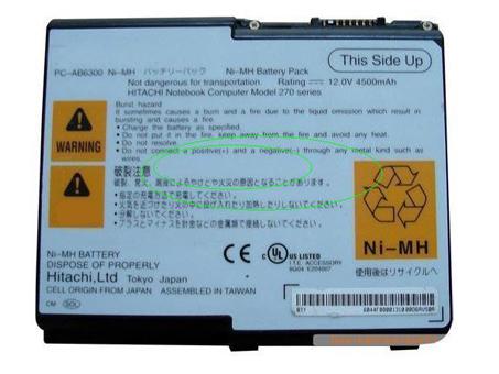Hitachi PC-AB6300 batterie