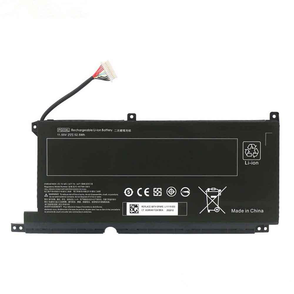HP PG03XL batterie