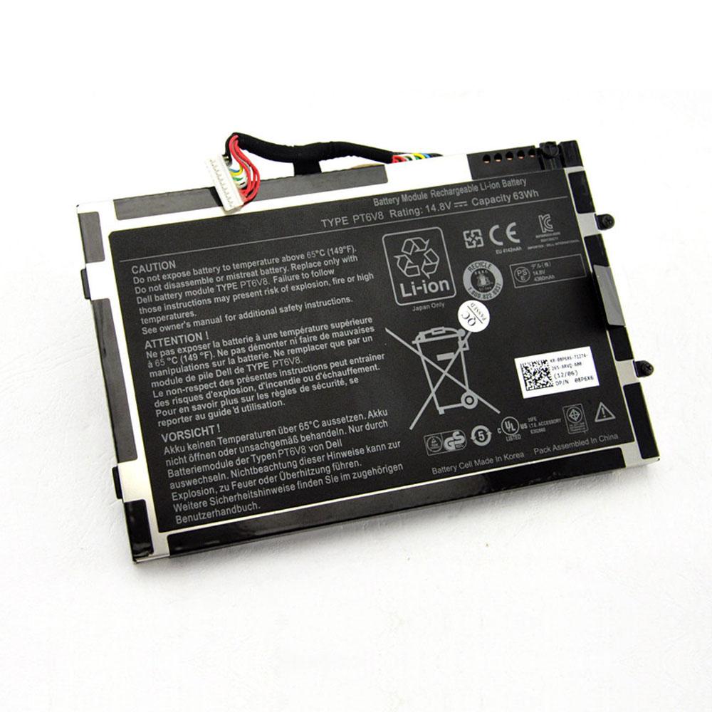 Dell PT6V8 batterie