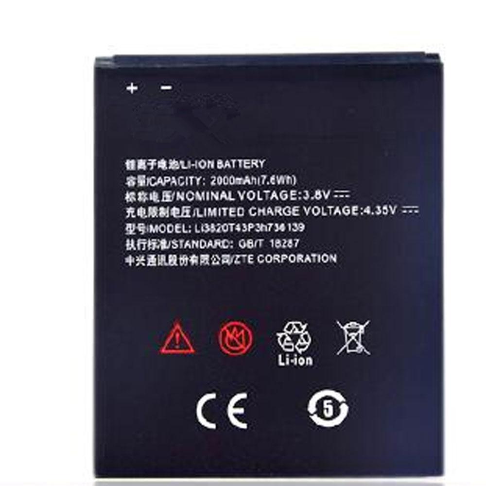 ZTE Li3820T43P3h736139 batterie