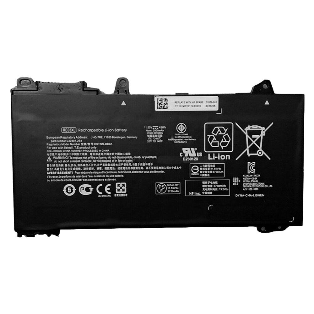 HP RE03XL batterie