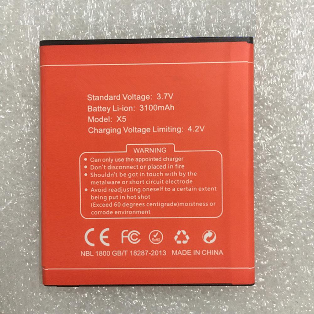 DOOGEE X5 batterie
