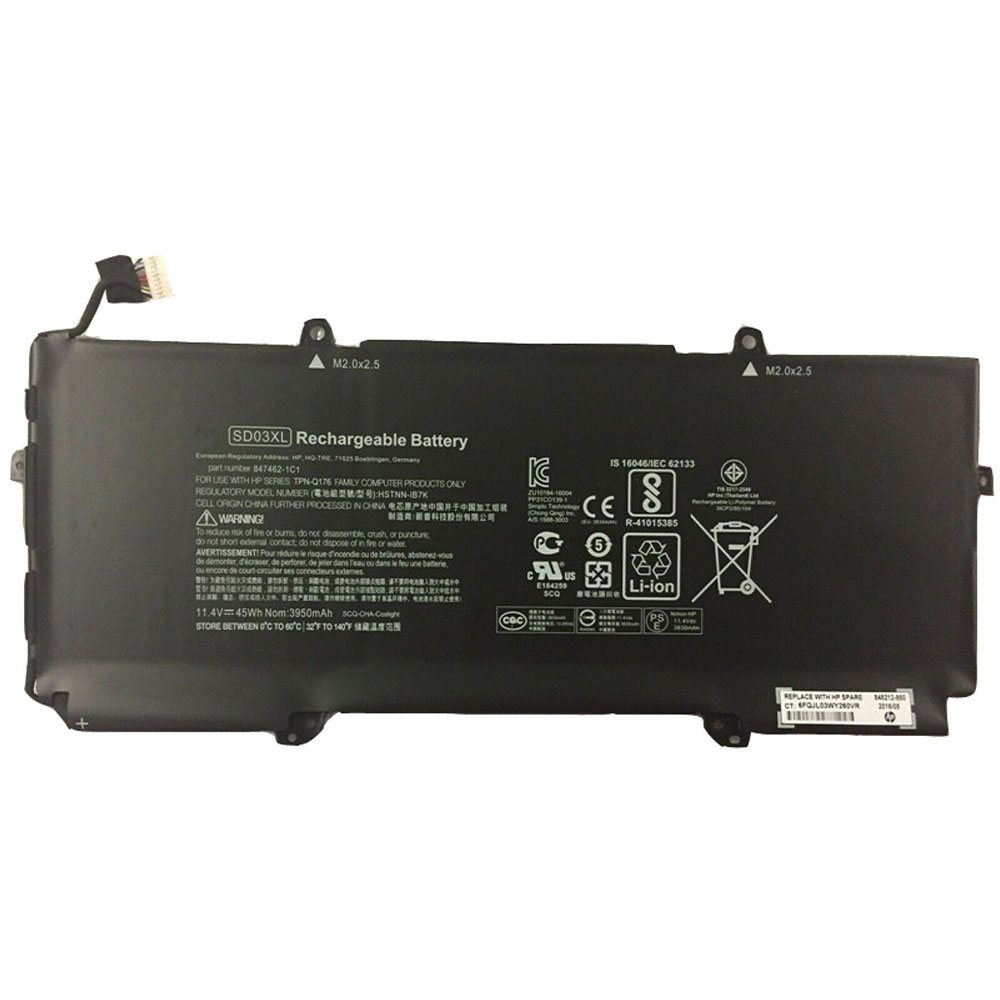 HP SD03XL batterie