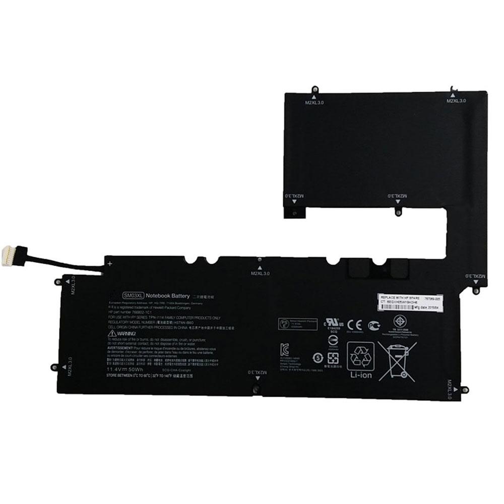 Batterie Ordinateur Portable HP 76802-1C1 767069-005 15-C011DX 15-C Series Li-ion 50Wh