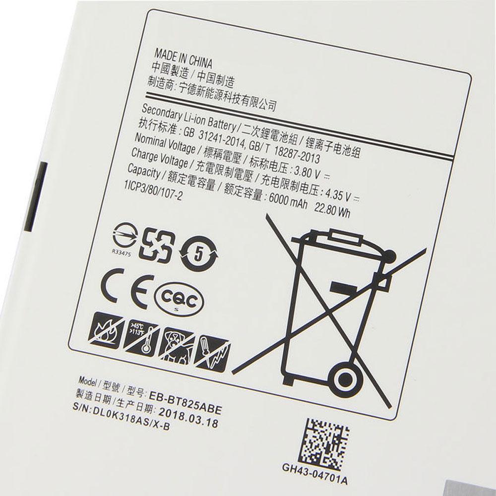 Batterie Samsung EB-BT825ABE - [6000MAH/22.80Wh] - [3.8V/4.35V] - Li-ion
