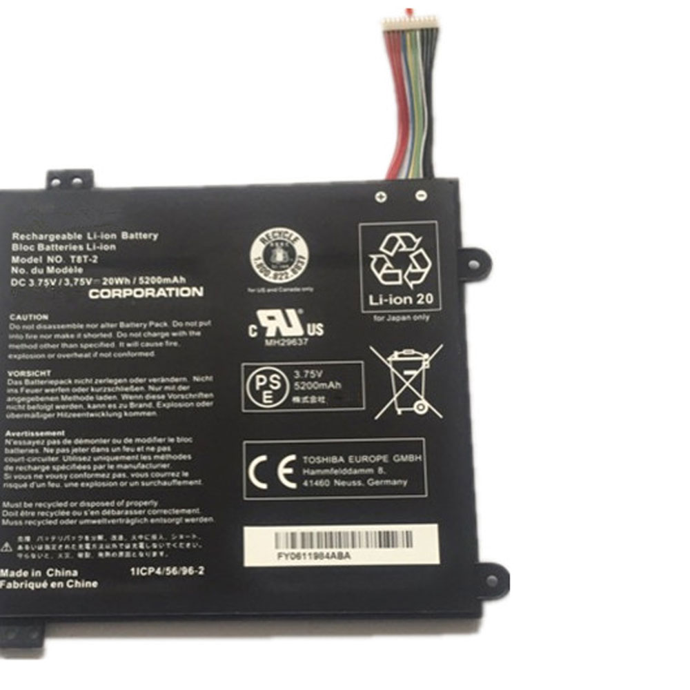 Toshiba T8T-2 batterie