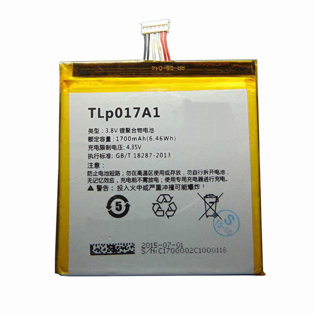 Alcatel TLP017A1 batterie