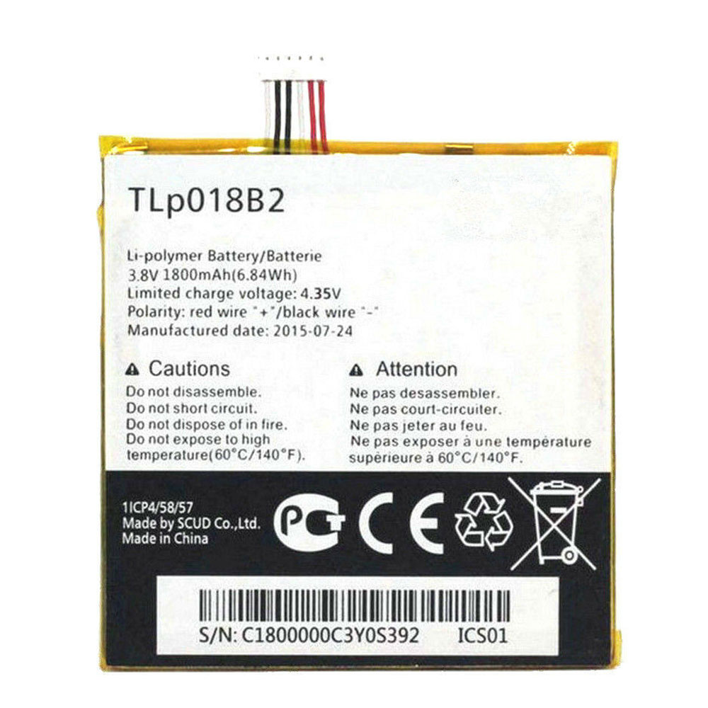 Alcatel TLP018B2 batterie