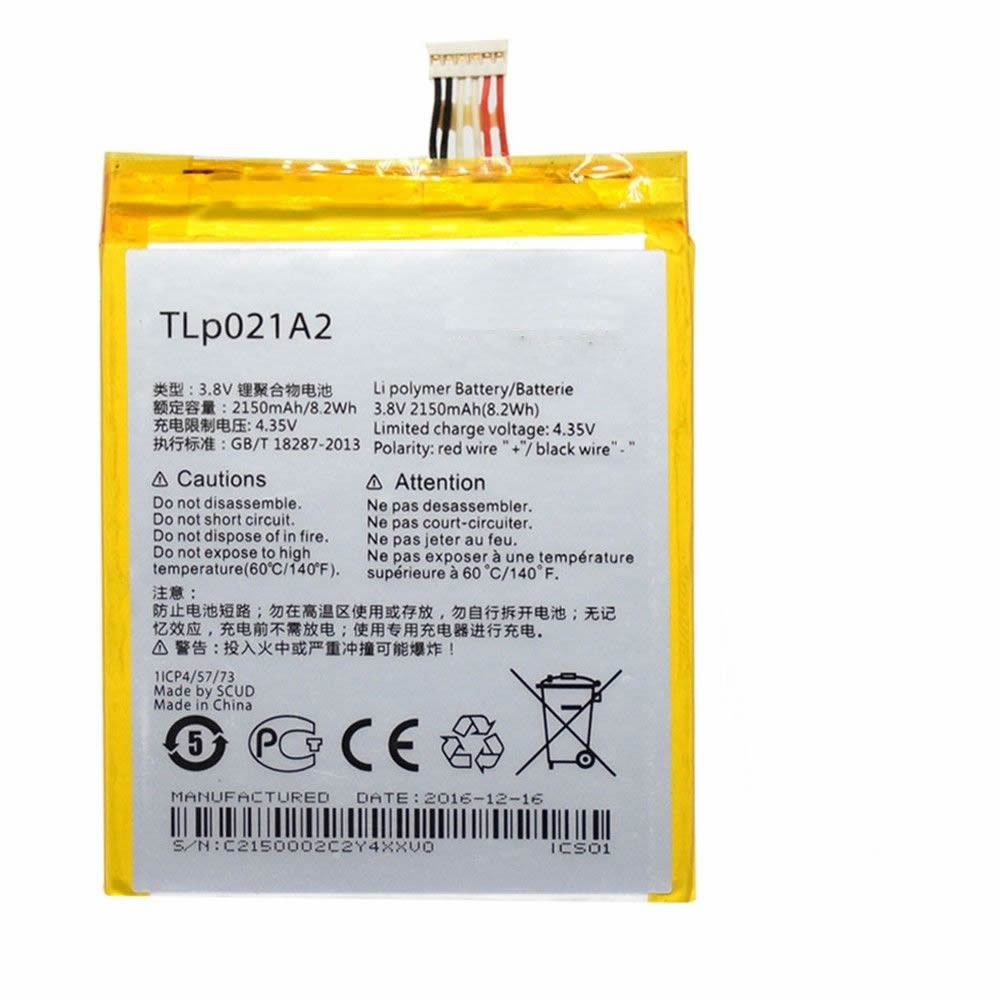 Alcatel TLP021A2 batterie