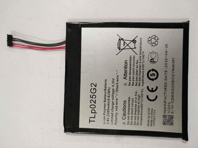 Alcatel TLp025G2 batterie