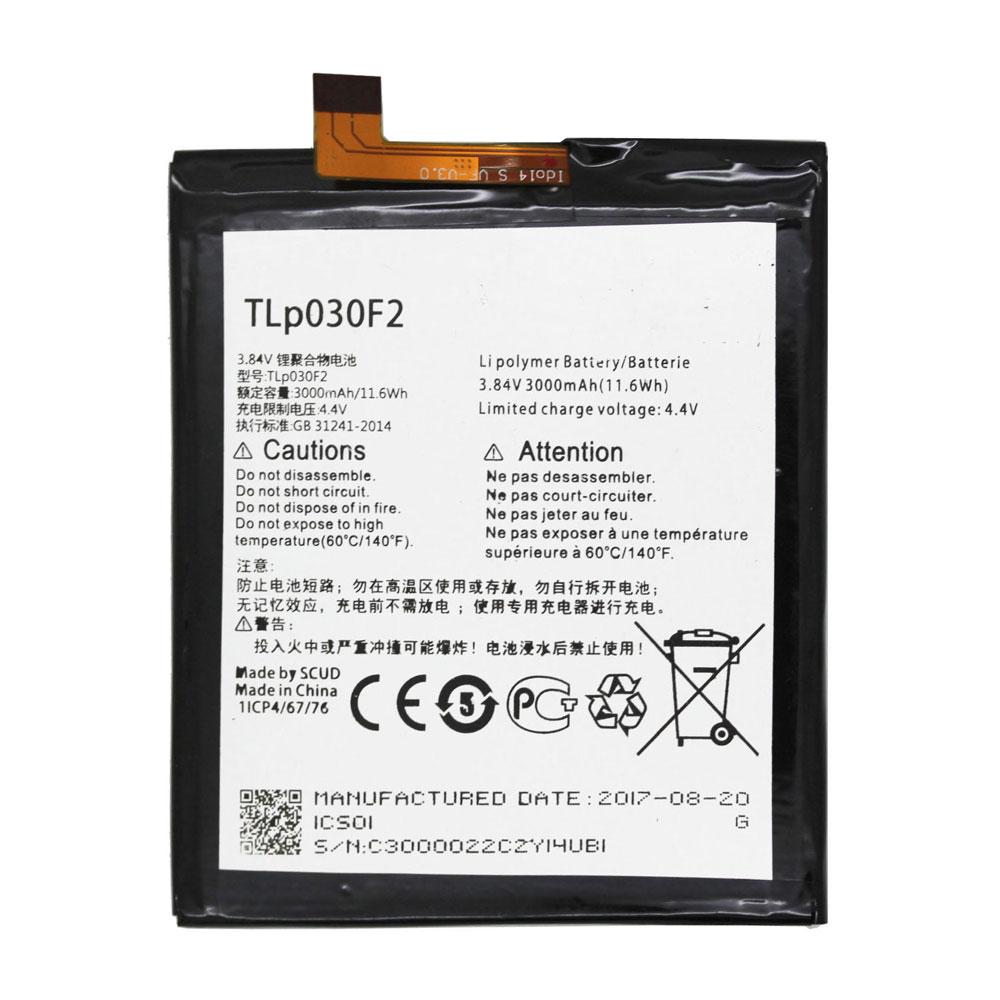 Alcatel TLP030F2 batterie