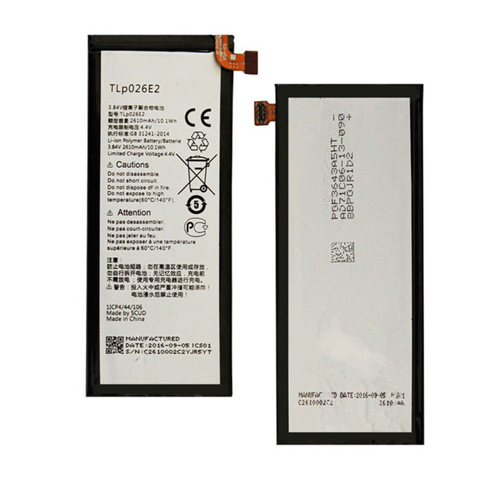 Alcatel TLp026E2 batterie