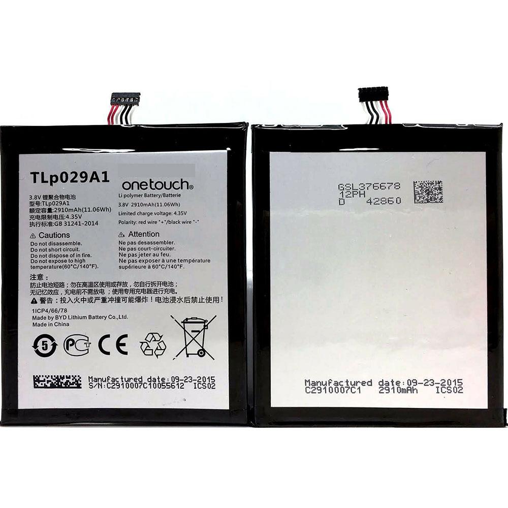 ALCATEL TLp029A1 batterie