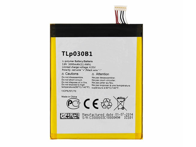 Alcatel TLp030B1 batterie