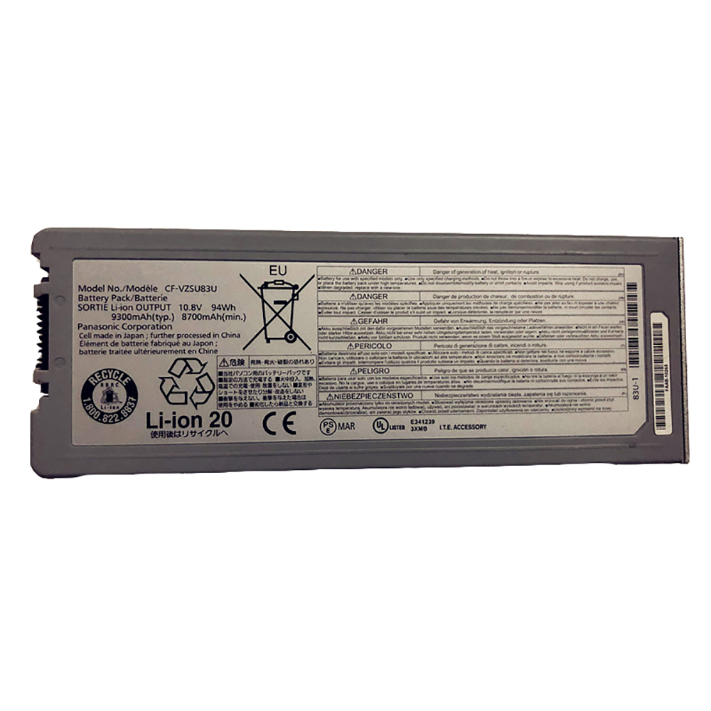 Panasoni CF-VZSU83U batterie