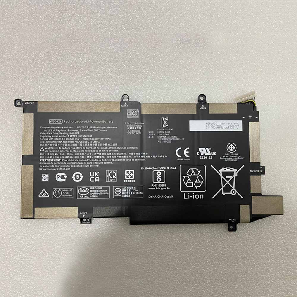 HP WS04XL batterie