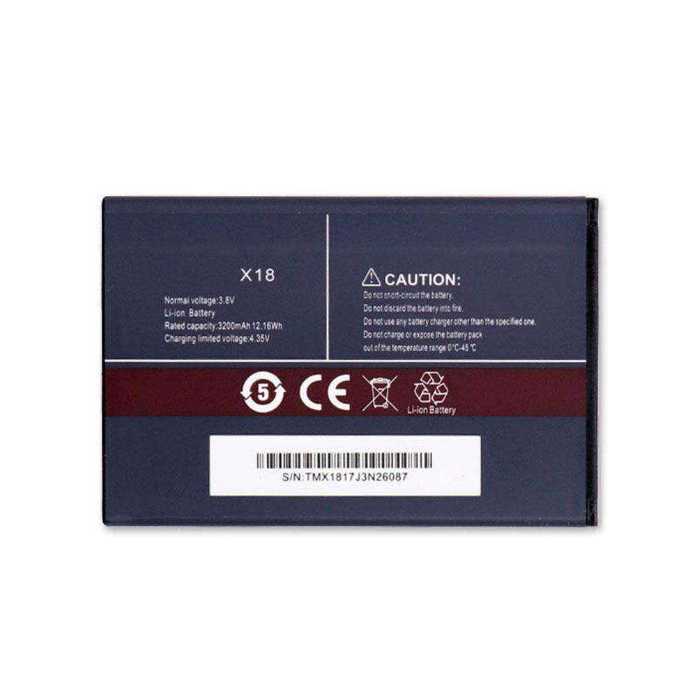 CUBOT X18 batterie